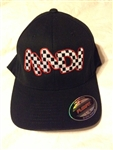 IMDI Checkered Logo Flex Fit Hat