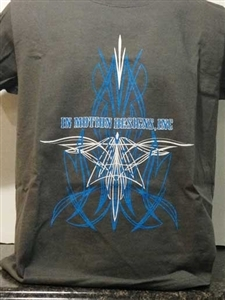 In Motion Designs Inc Pinstriped T-Shirt