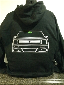S-10 2nd Gen Embroidered Minitruck Hoodie