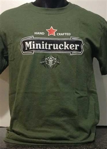 Minitrucker Hand Crafted T-Shirt