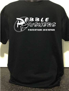 Pebble Pushers Logo T-Shirt