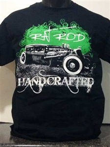 Rat Rod Handcrafted T-Shirt