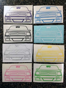 Slammed 2nd Gen S10 Vinyl Decal