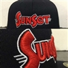 SunSet 3D Puff Embroidered Hat