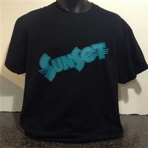 SunSet Diaganol Logo T-Shirt