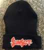 SunSet Embroidered Beanie