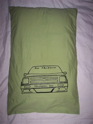 Slammed Minitruck Pillow Case
