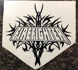 Tribal Firefighter Decal