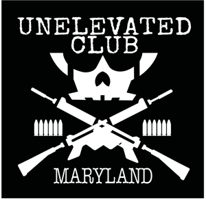 Unelevated Guns vinyl logo