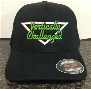 Vertically Challenged logo Hat