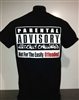Vertically Challenged Parental Advisory T-shirt