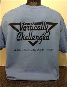 Vertically Challenged Triangle Logo T-Shirt