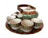 HAND PAINTED BENJARONG  TEA SET