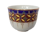 HAND PAINTED BENJARONG CHINESE TEA CUP