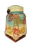 HANDPAINTED SPUN BAMBOO CONTAINER