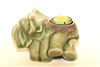 Ceramic Elephant Candle Holder
