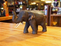 Teakwood Elephant (Small)