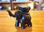 RESIN  ELEPHANT CANDLE HOLDER