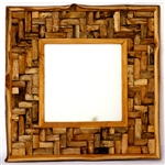 Recycle Teakwood Mirror (PUZ)