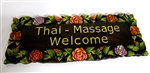 Thai Massage Welcome Sign