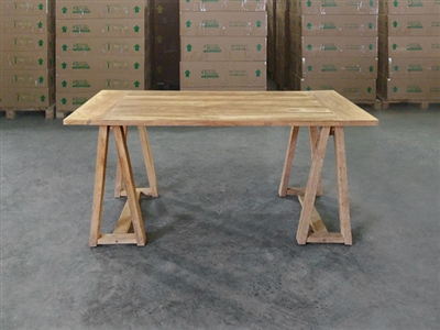 Bendi Rectangle Teak Table 160x100
