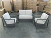Carolina Teak Deep Seating Sofa (1) + Deep Seating Chairs (2) Set
