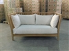 Dakota Teak Deep Seating Sofa w/ Cushion