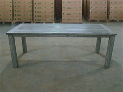 "S2DIO Teak Table #0005 - 210x90cm - 83"" x 35"""