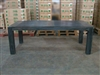 "S2DIO Teak Table #0040 - 220x100cm - 87"" x 40"""