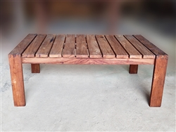 "S2DIO Teak Coffee Table #0044 - 120x70cm - 47"" x 28"""