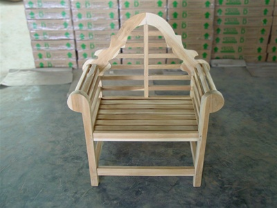 Teak Lutyen's Chair