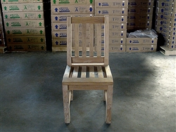 Fathergill Teak Dining Chair (Rustic)