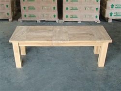"120cm/48"" BG Teak Backless Bench"