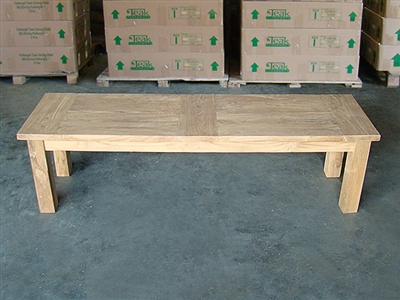 "150cm/60"" BGTeak Backless Bench"