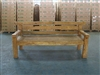 "205cm/81"" Mutt Recycled Teak Bench #0025"