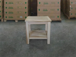 Side Table - Niam w/ lower shelf