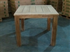 "Recycled Teak Table - 90x90 - 36"" x 36"""