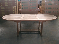 Ardara Oval Extension Table 180cm/240cm x 120cm