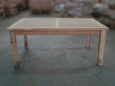 Tata Teak Coffee Table 120x70cm