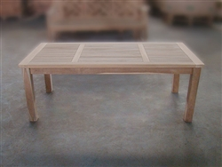 Tata Teak Coffee Table 140x70cm