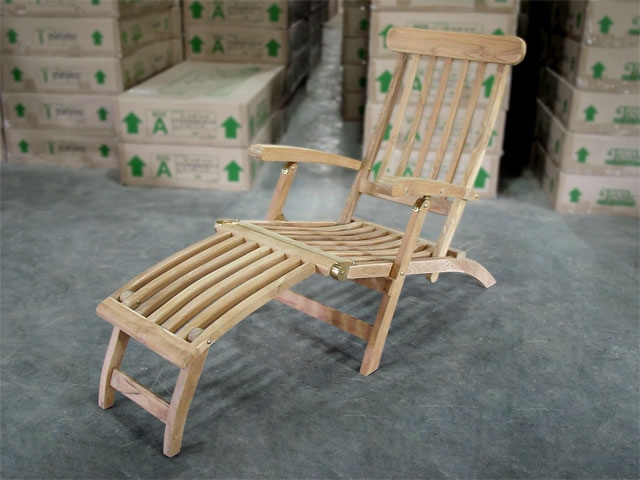 Ocean Teak Deck Chair (Steamer)