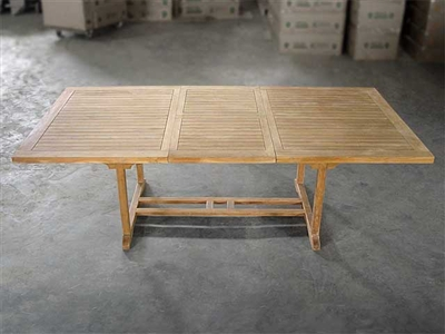 Ballina Rectangle Extension Table 180cm x 120cm - extendable to 240cm