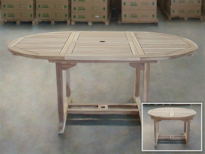 Bealin Round Extension Table 120cm/180cmx120