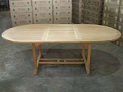 Fremont Oval Extension Table 180cm/240cmx120