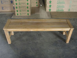 "150cm/60"" Rinjani Backless Bench"