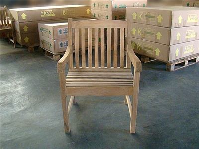 teak boma arm chair