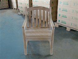 teak sulawesi arm chair