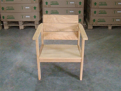 Teak Nusa Deep Seating Chair