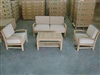 Bromo Sofa Set w/ Chairs and Coffee Table