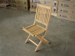 teak jogja folding chair